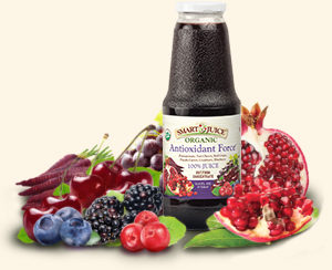 Smart Juice Antioxidant Force among fruits