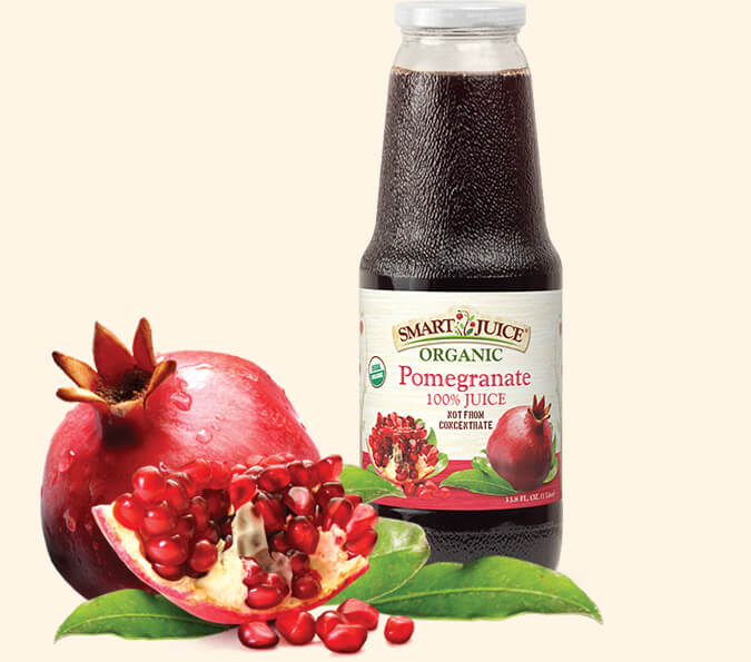 Smart Juice Organic Pomegranate